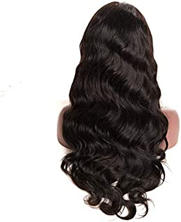 360 lace frontal wig human hair body wave hair wig for black women with baby hair and natural hair line virgin hair wig 150% density (20inch)