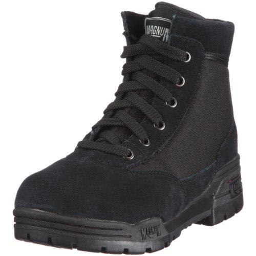 Hi-Tec Nederland BV Magnum MID M800281 Unisex-Erwachsene Combat Boots, Schwarz (BLACK (SUEDE) 002), EU 35 (UK 3) (US 4)
