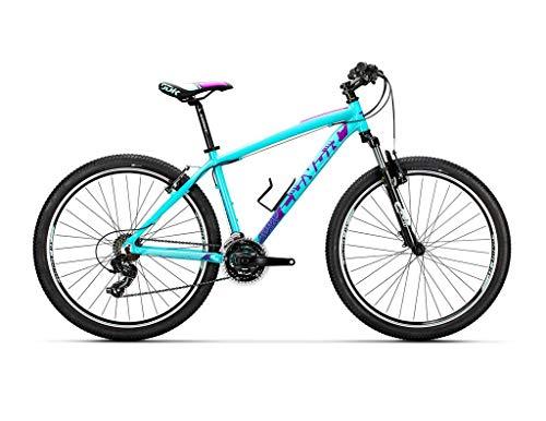 Conor Bicicleta 5400 Azul SM. Bicicleta de montaña con Dos Ruedas. Bici Adultos. Bike. Ruedas 27.5 Pulgadas. 7 velocidades.