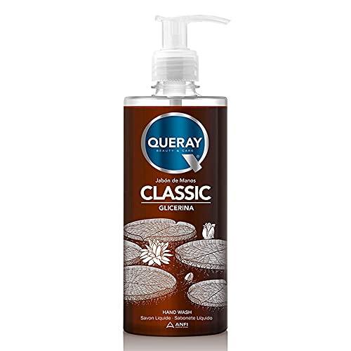 Queray Jabón Manos Líquido Classic Glicerina - 500 ml.