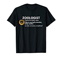 This Zoologist Definition t shirt is a perfect and funny gift idea for any professional zoologists or animal lovers in your life. Make the study of animals more fun with this cool t-shirt design. Great gift for Christmas or Father's Day. If you are l...