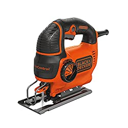 BLACK+DECKER Jig Saw, Smart Select, 5.0-Amp (BDEJS600C) for woodcutting