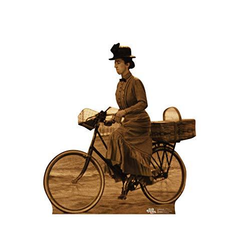 Figura de papelão com recorte em tamanho real da Advanced Graphics - O Mágico de Oz 75º Aniversário (1939 filme), Miss Gulch on Bike, One Size