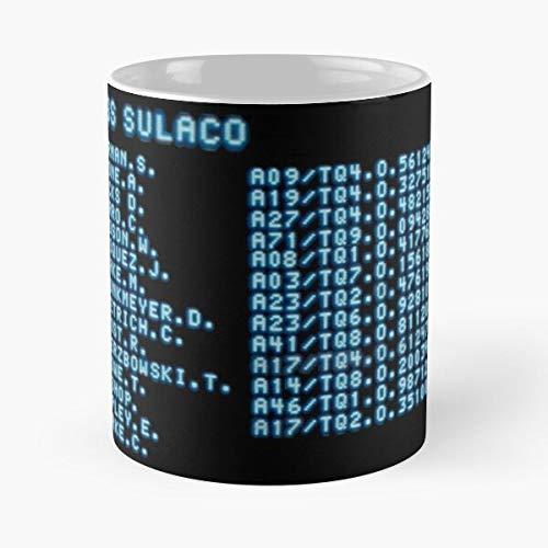 Ripley Aliens Sulaco Hicks Apone Hudson Xenomorph Alien Best Taza de café de cerámica de 11 onzas