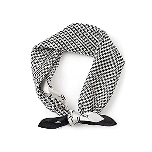 WXIANG Bufanda Ultraligero Bufanda Cuadrada para Las Mujeres Bufandas Cuello Corbata 53 Cm 20.8 Pulgadas Mejor Regalo para Ella Ropa y Accesorios (Color : A)