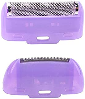 TK#-Electric Shavers - 2pcs Electric Epilator Replacement Head Women Hair Removal Painless Women Hair Remover Shaver Acces...