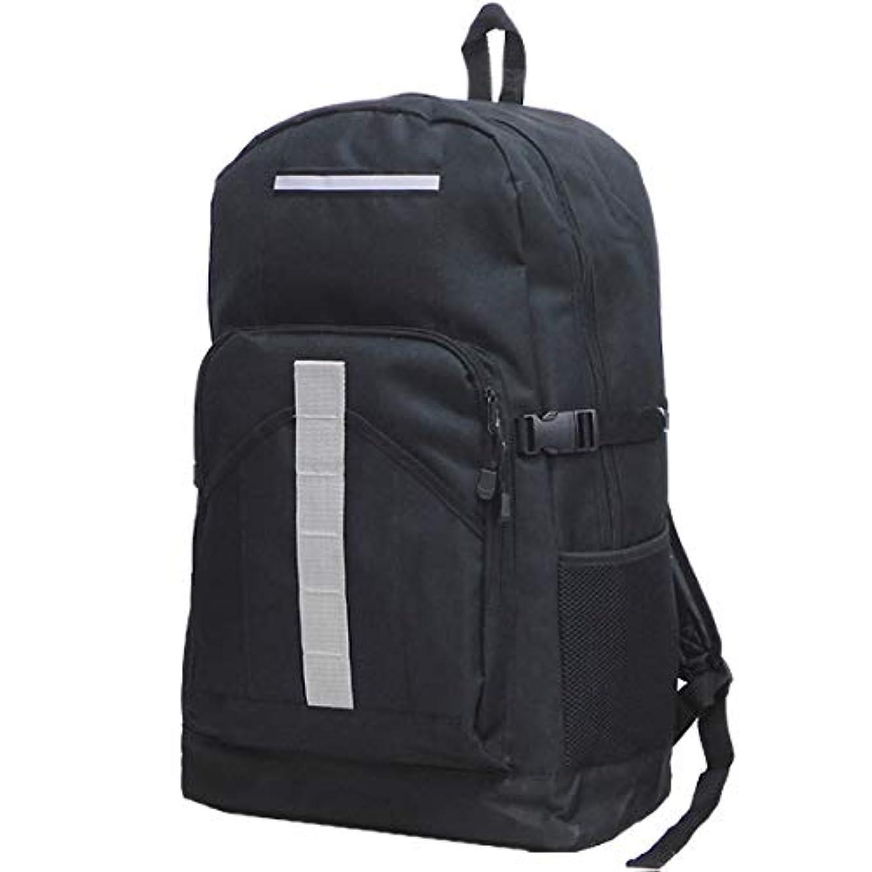 モニター帳面電気の大容量 44リットル リュック メンズ レディース 防災 バッグ リュックサック スポーツバッグ 災害対策 バックパック 黒 ブラック
