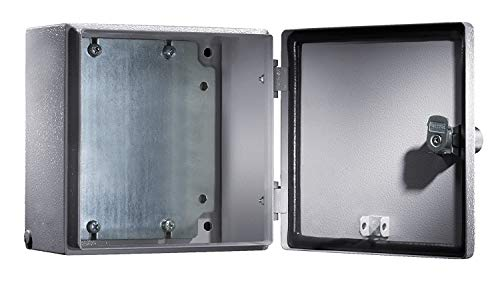 RITTAL Elektro Box EB Wandmodell pulverbeschichtet an der Aussenseite RAL 7035 200x200x120mm