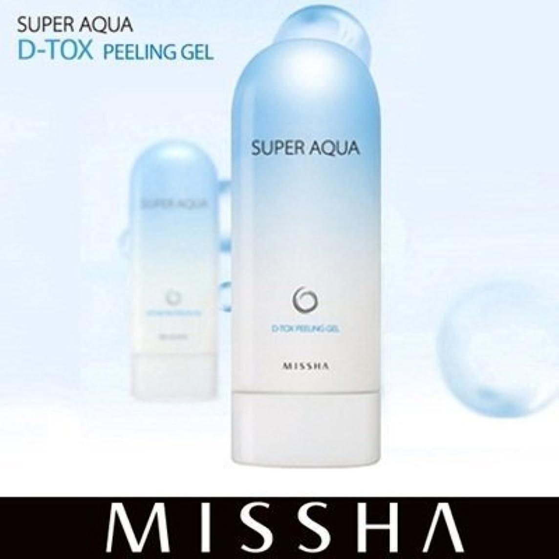 ストローク動作ボード[ミシャ/MISSHA] Super Aqua Detoxifying Peeling Gel スーパー アクア ピーリング ジェル [海外直送品]