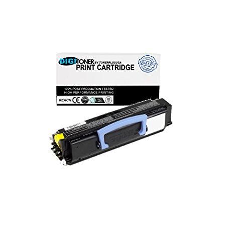 1 Pack Digitoner Compatible Dell 1720 (310-8707) Black Toner Cartridge for Dell Laser Printer 1720 1720dn