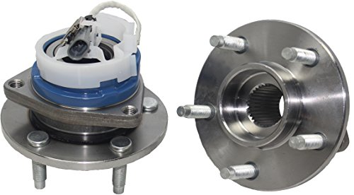 Detroit Axle 513121 Pair(2) Front Wheel Hub...