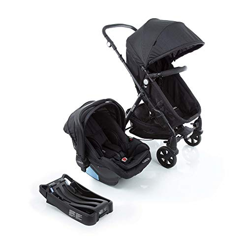 Travel System Poppy Trio Cosco, Preto Mescla