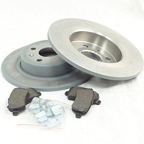 véritable pour Vauxhall Corsa C 1.6 1.8 17D 01 + Disques de frein arrière & Ensemble de tampons – 93186417