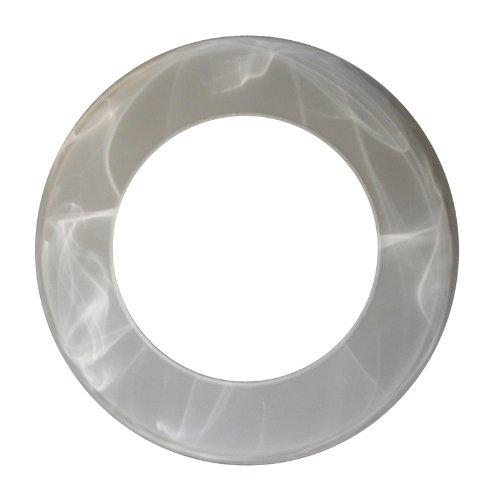 WOFI Glas LAMPENGLAS 7177 ERSATZGLAS Ersatzschirm Fluter Schirm Fluterglas Leuchtenglas Glas