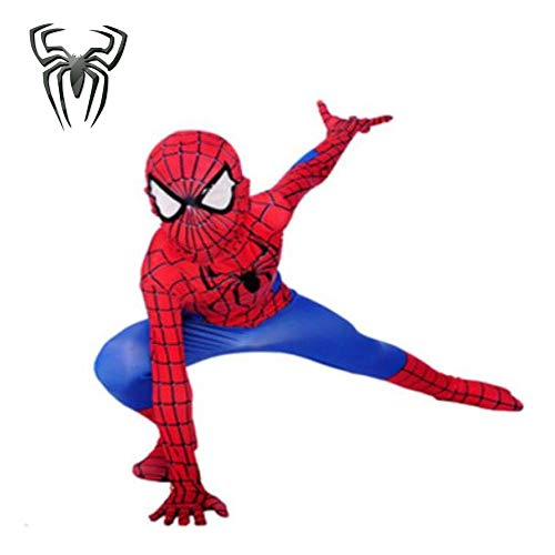Superheld Spider-Man Cosplay Kostüm Weihnachten Halloween Party Kostüm Jumpsuit Erwachsener/Kind,110