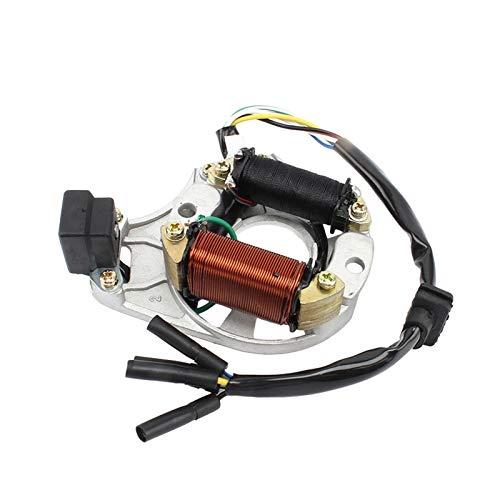 linger Generador de Motocicleta Estator Mocket Motor Motor Fit for ZS Lifan Loncin 70cc-125cc Motores Pit Suct Suck Bike