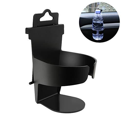 SENZEAL Auto Universal Auto Montierter Getränkehalter Steckbares Rack Schwarz ABS + PP Für Flasche, Getränkeflasche, Wasserglas, Kaffeetasse