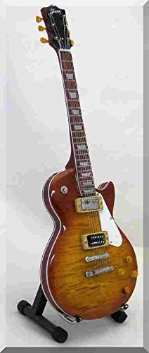 BILLY GIBBONS ZZ Top Miniatur Gitarre Les Paul