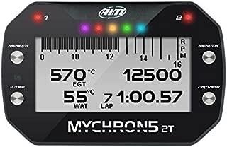 AiM MyChron 5 2T Dash Logger w/GPS w/WiFi - 2 Temp Sensors Included; EGT and Water Sensor