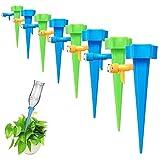 Voarge 15 unidades sistema de riego automático Set de riego Instellbar Bewässerungs-Spikes, ayuda de riego, para plantas, flores de interior, ideal como Urlaubsbewässerungssystem