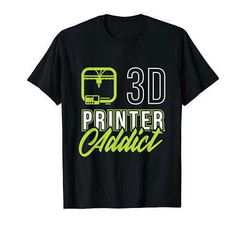3D-Printing Icon G28 CNC Maker 3D-Scan Impresora Camiseta Camiseta