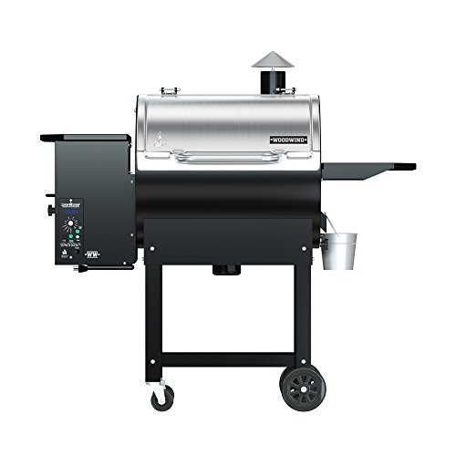 Camp Chef Woodwind Classic Pellet Grill Without Sear Box - Featuring Smart Smoke Technology - Convection Heating - Ash Cleanout System