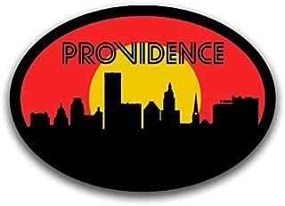 Providence Rhode Island Skyline Vinyl Decal Sticker | Cars Trucks Vans SUVs Windows Walls Cups Laptops | Full Color Printed | 5.5 Inch | KCD2595