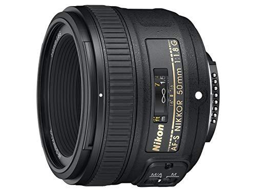 Nikon AF-S 50mm F1.8 G -  [Versión Nikonistas con garantía 5 años y cobertura de robo un año con el acceso a Nikonistas] Objetivo para cámara (distancia focal fija 50 mm, apertura f/1.8) negro