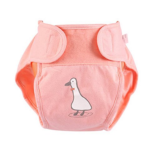 Lovely Baby fuite Diaper Coque avec Magic Tape (6–12 mois, Rose)