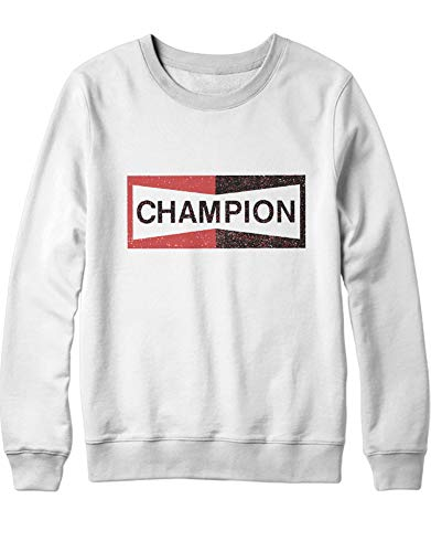 HYPSHRT Herren Sweatshirt Once a Time in Hollywood Pitt Champion C1000003 Weiß XS