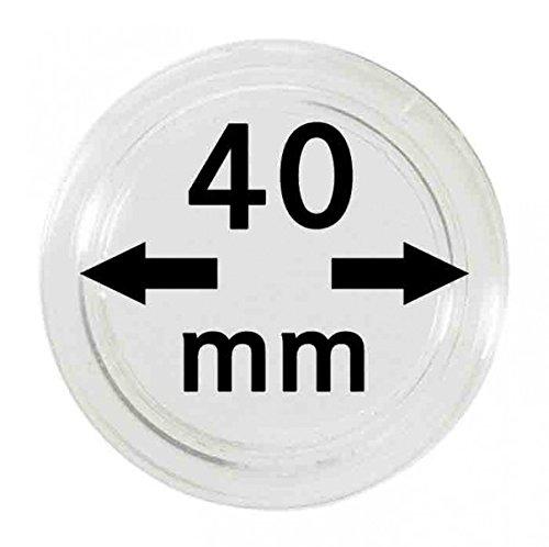 LINDNER Das Original Münzkapseln Innen-Ø 40 mm, 10er-Packung