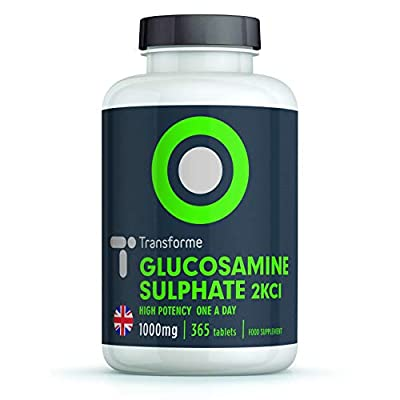Joint Care Glucosamine Sulphate 2KCL 1000mg - 360 tablets - By Transforme from Save on Supplements