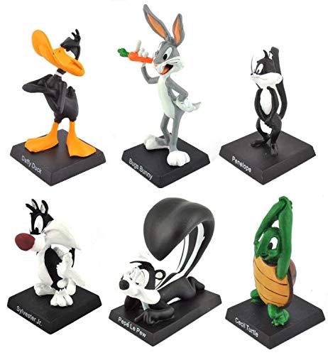 OPO 10 - Lote de 6 Figuras de Metal - 7cms -...