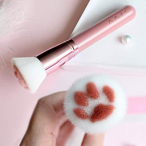 Chirsemey Make-up Pinsel, Niedliche Katzenpfote Kosmetikpinsel Für Make-up, Blush Foundation...