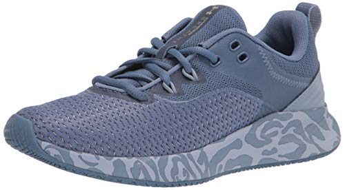 Under Armour womens Charged Breathe 3 + Cross Trainer, Mineral Blue (401 Mineral Blue, 7.5 US