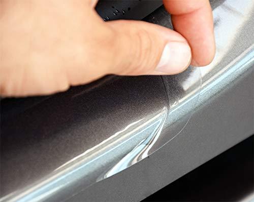 Preisvergleich Produktbild WGS Einstiegsleisten Einstiegssutz Lackschutzfolie Schutzfolie Transparent Extra Stark 240µm (1380-107)