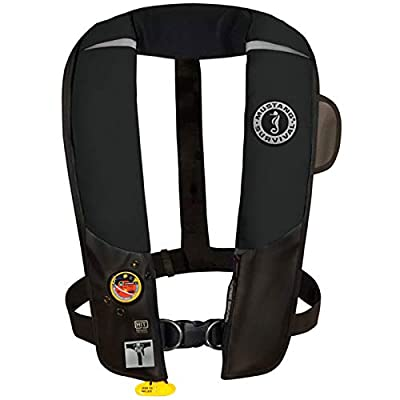 Mustang Survival Corp Inflatable PFD with HIT (Auto Hydrostatic) with Harness