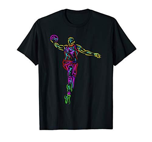 Basketball T-Shirt Basketballspieler Basketballer Shirts