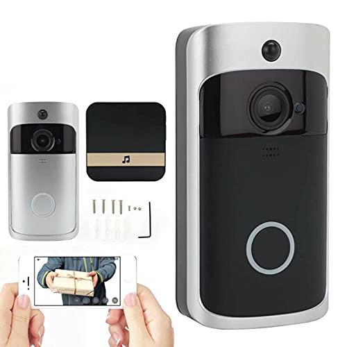 WiFi trådlös HD video smart dörrklocka ring kamera klocka telefon säkerhetsintercom