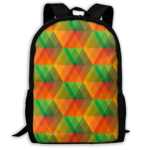 Schulrucksack Buntes Glasmosaik Rucksack wasserdichte Schultaschen Durable Travel Camping Rucksäcke für Jungen und Mädchen