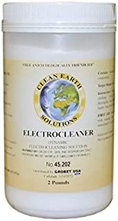 CLEAN EARTH ELECTROCLEANER 2 LB CLEANING PLATING SOLUTION ELECTROPLATING