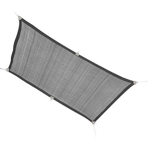 Rectángulo gris Parasol Toldo Toldo de Vela Refugio paño de la tela de la pantalla - Bloquear UV UV y resistente for trabajo pesado de calidad comercial - al aire libre Patio Cochera ( Size : 1*1m )