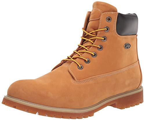 Lugz mens Convoy Fashion Winter Boot, Golden Wheat/Bark/Tan/Gum, 9.5 US