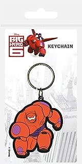 Disney Big Hero 6 Baymax Rubber Keychain by