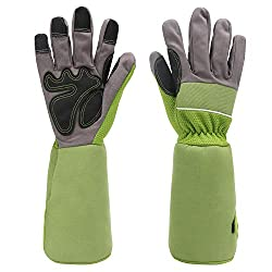 50%OFF Rose Pruning Gardening Gloves, EnPoint Women Long Garden Work Gloves, Puncture Resistant Cutting Thorn Proof Glove