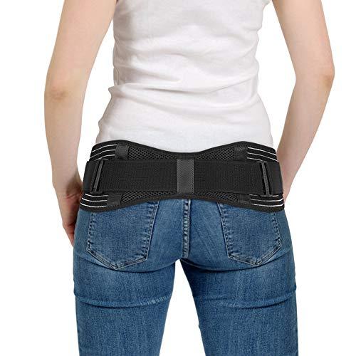 Iliosakralgürtel, SI Gürtel Iliosakralgelenk Gürtel Sacroiliac Belt Hüftgurt zur Stabilisierung des SI-Gelenks und zur Linderung von Ischiasnerven, Becken-, Rücken