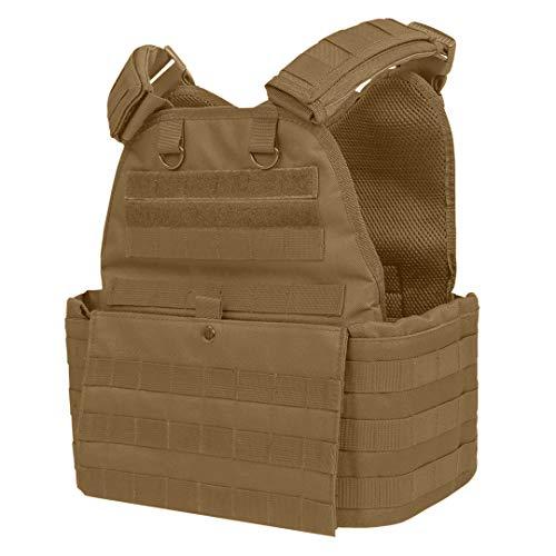 ATG Duty Vest 11'X13' Fully Adjustable Law Enforcement (Tan)