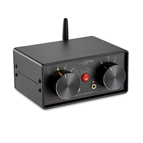 Why Should You Buy Nobsound Little Bear MC403 Mini 4-IN-3-OUT Audio Selector Box 3.5mm / RCA/Bluetoo...