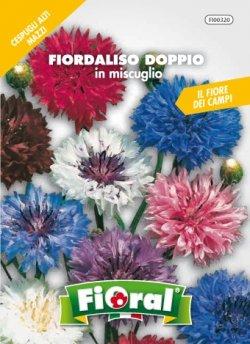 Sementi da fiore di qualità in bustina per uso amatoriale (FIORDALISO DOPPIO IN MISCUGLIO)