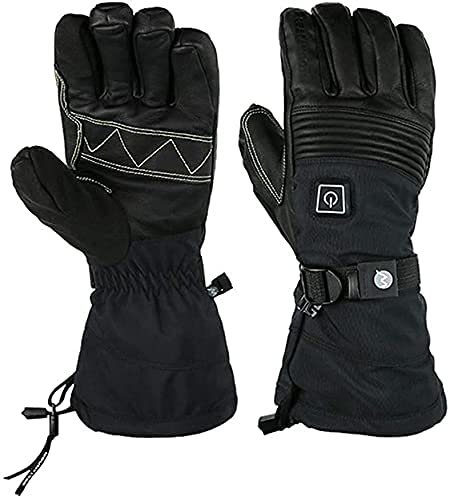 QMJHHW Heated Gloves Electric Heated Gloves for Women and Men Winter Outdoor Sports, Hand Warmers Rechargeable 3 Levels Temperature Control Heating Thermal Gloves